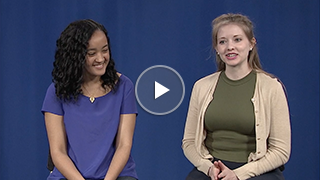 Nadia Leonard, 3rd-year graduate student in the Chirik lab; and Jessica Frick, 3rd-year joint graduate student in the Bocarsly and Cava labs, talk about their path to the Department of Chemistry at Princeton University.