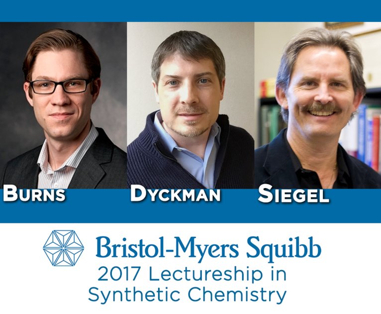 Bristol-Myers Squibb 2017 Lectureship in Synthetic Chemistry