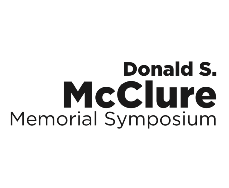 Donald S. McClure Memorial Symposium