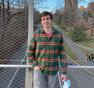 Sean Huth, first-year graduate student in the Department of Chemistry.