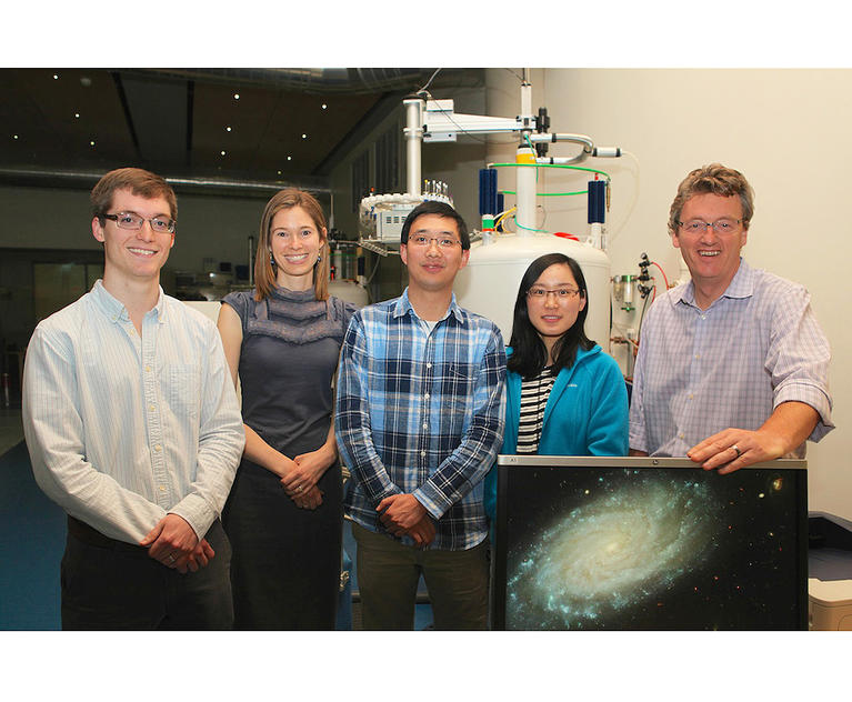 Co-authors from left to right, Derek Ahneman, Abigail Doyle, Zhiwei Zuo, Lingling Chu and David MacMillan.