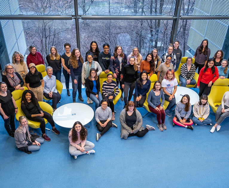 Some of the women in the Department of Chemistry, Princeton University