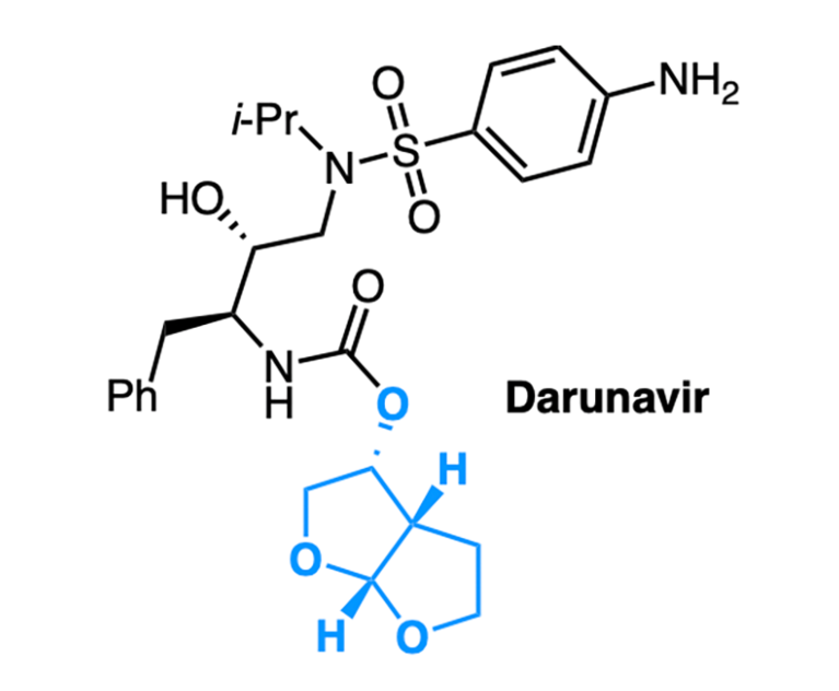 The molecular structure of Darunavir