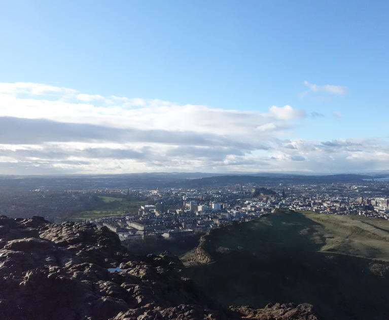 Top of Arthur's Seat