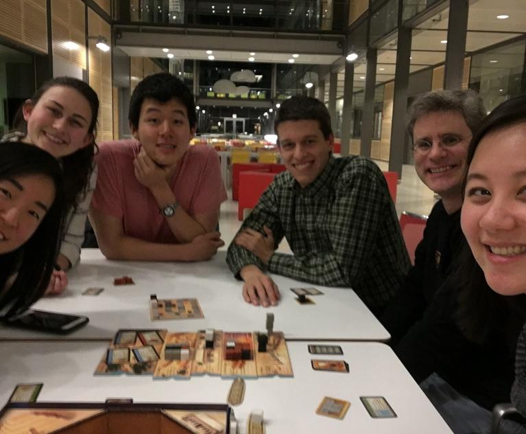 Chemistry Majors' Game Night with Dr. Kelly