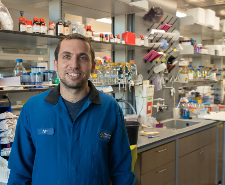 Nir Hananya, researcher for the Muir Lab and newly minted Damon Runyon Fellow.