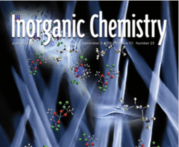 Cover of Inorganic Chemistry journal