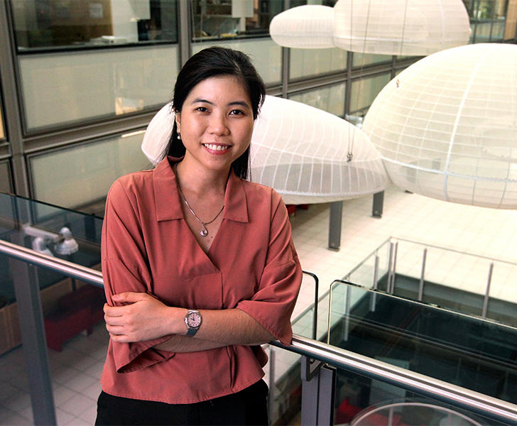 Suong (Su) Nguyen, a fourth-year graduate student in the Knowles Lab.