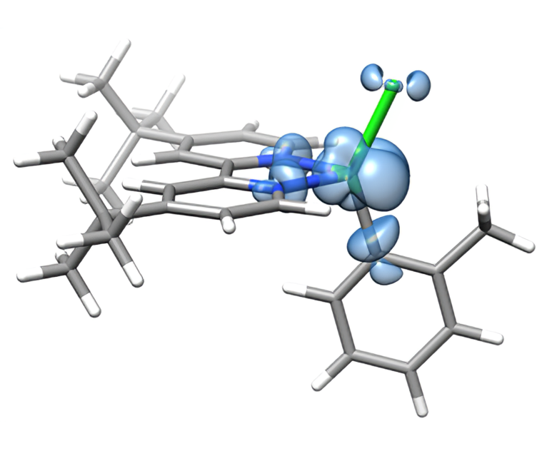 Ni-catalysis 3d-d excited state