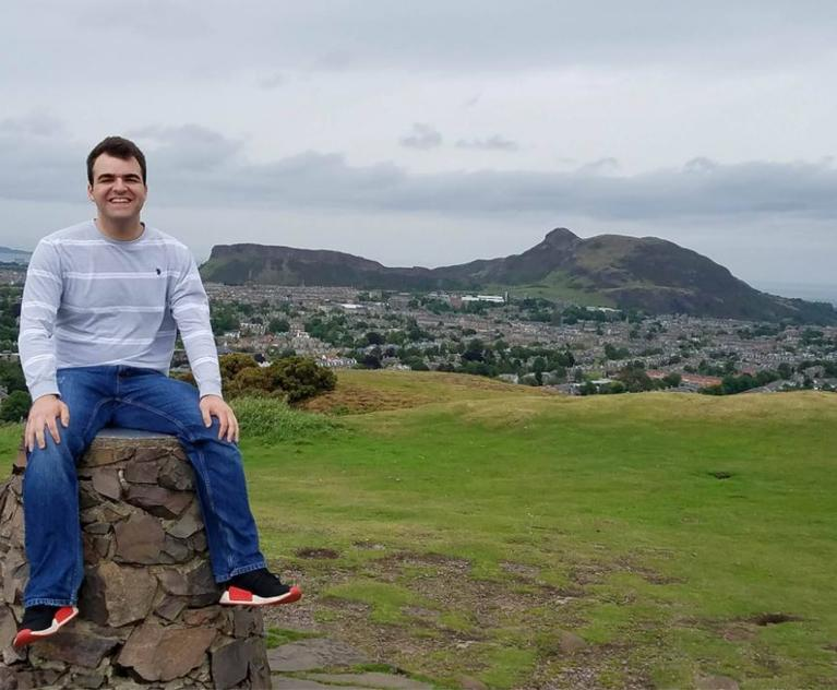 George Georges '19 at University of Edinburgh Intl Internship Program